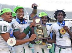 Miami Central goes for the three-peat and wins the 6A Florida High School #Football State Championship! From @miamiherald
