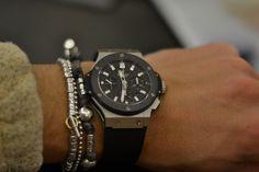 Men's watch & bracelets