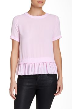 Tierney Pleated Blouse by Elizabeth and James on @nordstrom_rack