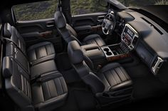 2015 GMC Sierra Denali 2500HD Interior