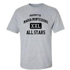 Maria Montessori School - Levittown, NY   Men's T-Shirts Start at $21.97