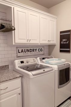 Small Laundry Room Decoration Ideas For You; Home Decor;Smart Laundry Room Arrangement Ideas To Save Your Space Laundry Room Remodel, Laundry Decor, Laundry Room Organization, Laundry Room Design, Laundry Closet, Kitchen Remodel, Small Laundry Rooms, Laundry Room With Cabinets, Laundry Room Makeovers