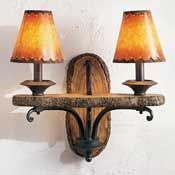 Pine Plank Wall Lamp