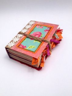 Hey, I found this really awesome Etsy listing at https://www.etsy.com/listing/472311803/junk-journal-mixed-pages-journal-sister