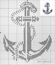 ru / anchor - all free schemes - kot-obormot vorlagen Cross Stitch Sea, Cross Stitch Charts, Cross Stitch Designs, Filet Crochet Charts, Cross Stitch Patterns, Cross Stitching, Cross Stitch Embroidery, Embroidery Patterns, Bobble Stitch
