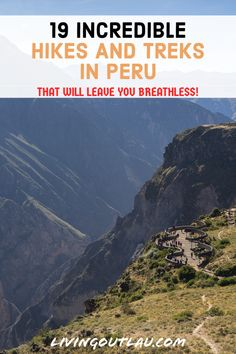 Come inside and find the 19 best hikes and treks in Peru, arguably some of the best things to do in Peru! | What To Do in Peru | Peru Travel Guides and Tips | Peru Travel Photography | Peru Hiking Packing List | Peru Itinerary | Machu Picchu | Inca Trail | Rainbow Mountain | Beautiful Places in Peru | Cusco | Huaraz | #Hikes #Peru #TravelPeru Travel Goals, Travel Advice, Travel Quotes, Travel Tips, Bolivia Travel, Peru Travel, Backpacking South America, South America Travel, Amazing Places