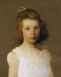 Beatrice 1902 by Abbott Handerson Thayer (American 1849–1921)