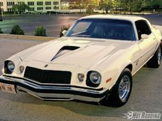Muscle Cars 1977 Chevrolet Camaro