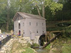 Beck's Mill in Washington County, Indiana.