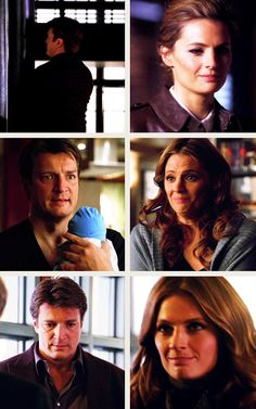 Kate Beckett's trying-not-to-smile smile.