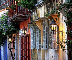Cartagena street ...  Cartagena de Indias, Colombia