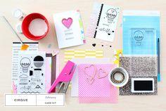 Sneak Peek at @studio_calico - Cirque card kit!