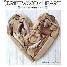 We love living in #harmony with nature at #Langezandt. Here is our #eco idea of the week: A tutorial on how to make a driftwood heart - http://www.simplicityinthesouth.com/2013/01/how-to-make-driftwood-heart-art.html