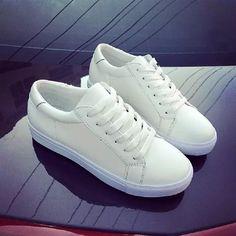 ... покроя обуви круглый носок квартиры обувь черный белый корейский мода  плоские туфли в категории Кроссовки для женщин на AliExpress. Размер  информация 627bec2b13a