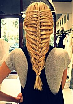 Who knew there were so many ways to braid your hair!