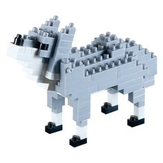 Brixies Build Your Own Wolf