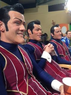 The crew of Rottens Stingy Lazy Town, Sportacus Lazy Town, Lazy Town Memes, Dankest Memes, Funny Memes, Hilarious, Meme Meme, Dead Memes, Lazy Town Robbie Rotten