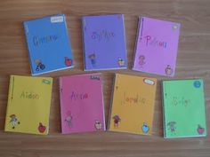 End of Year gifts for students -- writing journals