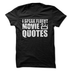 It really is its own language, isn't it? The ability to speak movie quotes fluently is a true art and talent, not to be taken lightly. If you are a proud movie quote-ist, show it off with this simple
