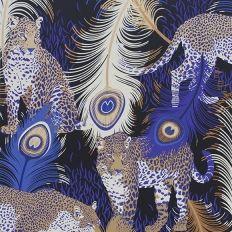 Papier peint - Matthew Williamson - Leopardo - Blue