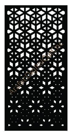 Template for interior partition in arabic style. Metal Garden Gates, Metal Gates, Decorative Metal Screen, Decorative Panels, Cnc Cutting Design, Laser Cutting, Balcony Railing Design, Diy Cnc Router, Laser Cut Steel