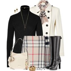 """Head to Toe Burberry"" by kelley74 on Polyvore"