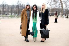 El street style de Paris Fashion Week Otono 2013