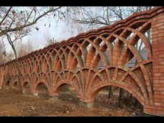 the fine art of brickwork - Triple twist (2 of 2) the Arches - YouTube