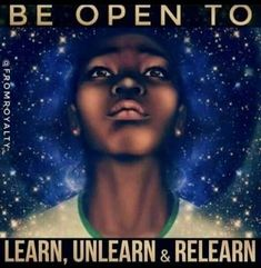 Learning is infinity. Be open to all kinds of ideas and practice.all that we need to deal with is how we use this learning and be able to help others from it. I am happy and grateful to be helping you remember what we already know. Positive Vibes, Positive Quotes, Positive Attitude, Positive Thoughts, What Is Anxiety, A Course In Miracles, Black History Facts, Way Of Life, Spiritual Awakening