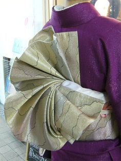 Japanese Obi - folds #kimono