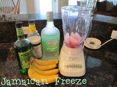 Apple-Bee's copycat alcoholic beverage recipe: Jamaican Freeze