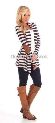 stripes and elbow patches!!!! LOVE LOVE LOVE!!