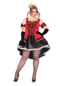 Leg Avenue Plus Size Royally Sexy Queen Costume Carrie Halloween Costume, Queen Of Hearts Halloween Costume, Queen Costume, Halloween Costumes, Adult Halloween, Halloween Party, Adult Costumes, Costumes For Women, Female Costumes