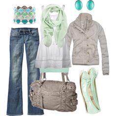 cool pastels, created by #htotheb on #polyvore. #fashion #style By Malene Birger #BKE