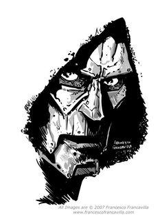 Dr Doom by Francesco Francavilla