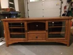 Oak TV Entertainment Credenza by Sauder Guelph Ontario image 1 Credenza, Ontario, Auction, The Unit, Entertainment, Tv, Stuff To Buy, Image, Furniture