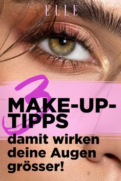Wir haben herausgefunden, auf welche Bereiche des Auges du achten musst,  welche Produkte am effektivsten zum Ziel führen und mit welchen Hilfsmitteln du selbst müde Augen wacher aussehen lässt. #augen #makeup #beautytricks #schminktipps #augenmakeup #wimpern #lidschatten #lidstrich #ellegermany Beste Mascara, Make Up, Tired Eyes, Body Weight Workouts, Dark Eyeshadow, Makeup Eyes, Makeup, Make Up Dupes, Maquiagem