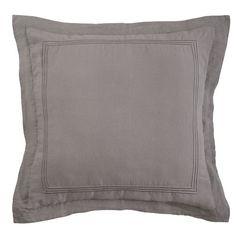 Roxbury Park Baratto Euro Sham Graphite *** Details can be found by clicking on the image.