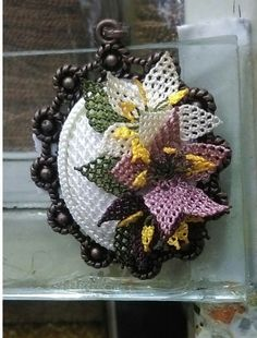 Needle Lace, Needlepoint, Patches, Wreaths, Sewing, Halloween, Crochet, Handmade, Crafts
