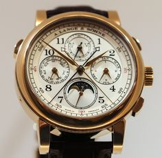A. Lange & Sohne 1815 Rattrapante Perpetual Calendar Watch   a lange sohne