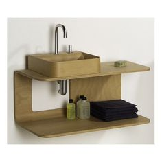 Whitehaus Collection Aeri Bathroom Shelf