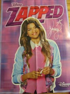 Zendaya, Zapped, Girl Meets World, Double Four Page Foldout Poster