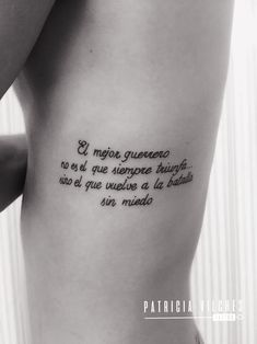 Frase #tattoophrase #tattoosefrase,Frase #tattoophrase #tattooing frase Los tatuajes p mujere...