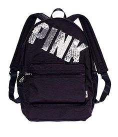 Victoria's Secret Pink Sequin Bling Logo Campus Backpack, Black Victoria's Secret http://www.amazon.com/dp/B00PPAQ57W/ref=cm_sw_r_pi_dp_JMxAub09CZ6ZC