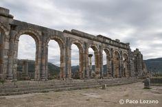 La antigua ciudad romana de Volubilis