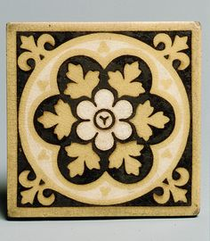 Encaustic Tile: Ohio, 1870-75.