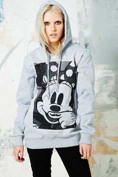Eleven Paris Minnie Mouse Hoodie in Grey. Love this!