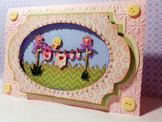 MCCR -  Nestled images - Baby Card