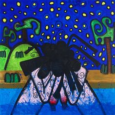 "Tip Dunham ""Bather/Night"" 2009"