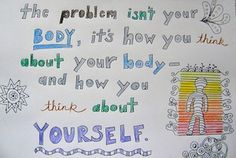 Body Image and Acceptance In Eating Disorder Recovery | In eating disorder recovery, your body may be changing. Eating Disorder blogger shares her experience with body image and fighting negative body thoughts.
